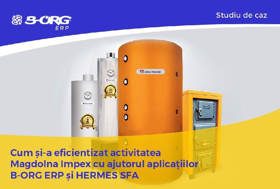 Magdolna Impex își eficientizează activitatea cu B-Org ERP și HERMES SFA